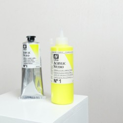 Acrylique Jaune de Cadmium Citron PY3 Studio de Vallejo