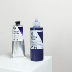 Acrylique Violet Permanent PV23 Studio de Vallejo