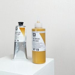 Acrylique Sienne Naturelle PY42+PR101+PBk7 Studio de Vallejo