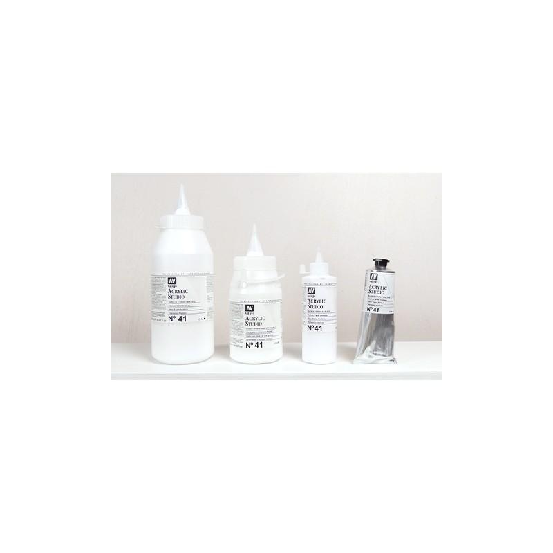Acrylique Blanc de Titane Anatase PW6 Studio de Vallejo