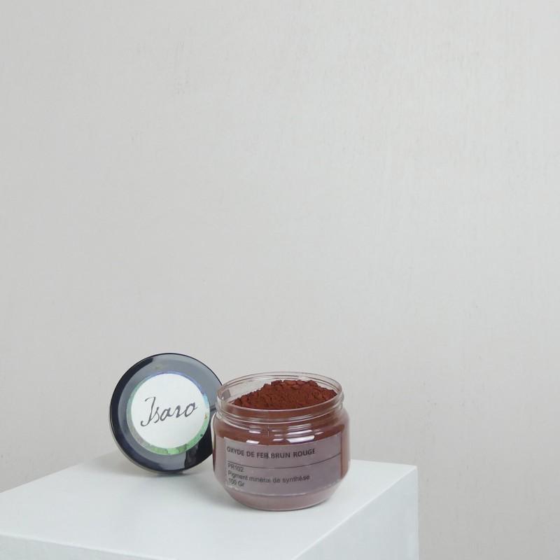 Pigment pr101 oxyde de fer brun rouge