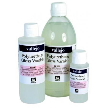 Vernis Brillant Polyuréthane pour Acrylique de Vallejo