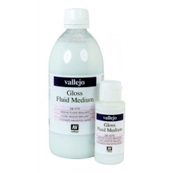Acrylique Medium Fluide Brillant Studio de Vallejo