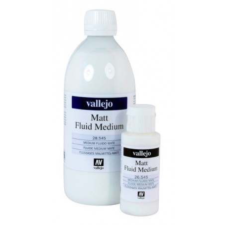 Medium Fluide Mat de Vallejo