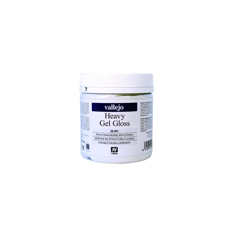 Acrylique Gel Dense Brillant Studio de Vallejo