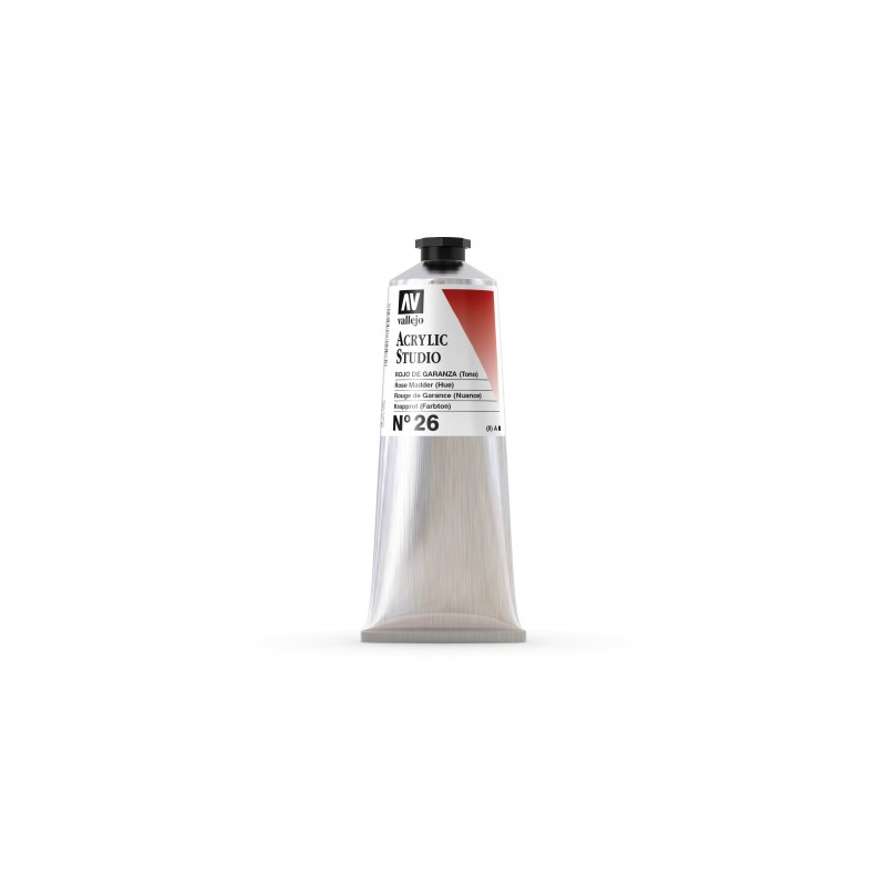 Acrylique Rouge de Garance PR5+PV23 Studio de Vallejo