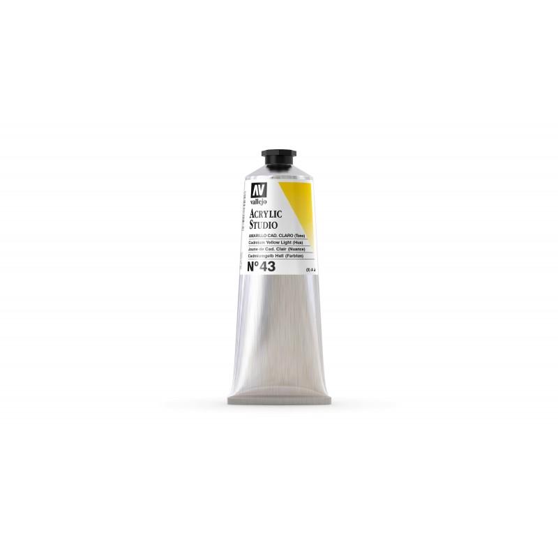 Acrylique Jaune de Cadmium Clair PY3+PY83 Studio de Vallejo