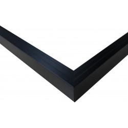 Cadre Caisse Américaine Escalier Bois Noir