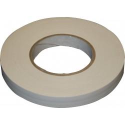 Rouleau adhésif de toile blanche mate 19mm