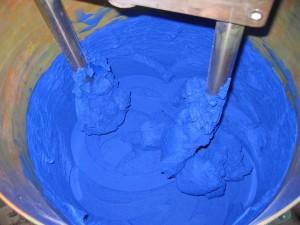 Mélange bleu de cobalt Isaro