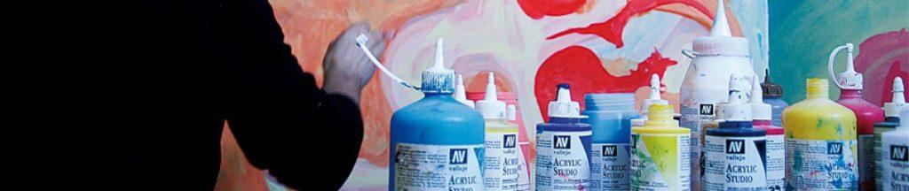 Acrylique pour artistes de Vallejo